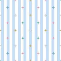 naadloze kleurrijke glitter patroon op streep achtergrond