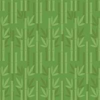 naadloze groene bamboe patroon achtergrond
