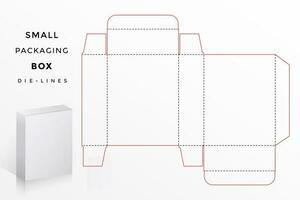 kleine doos die lijnen