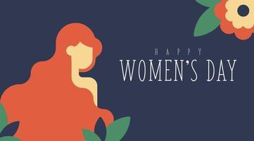 8 maart Vrouwendag Floral achtergrond