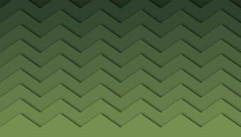 Abstracte groene ridge achtergrond met papier gesneden vormen