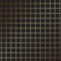 elegant goud en zwart patroonontwerp
