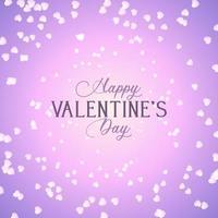Valentijnsdag achtergrond met harten ontwerp