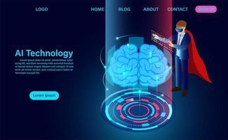 kunstmatige intelligentie technologie concept
