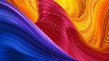 abstract kleurrijk vloeistof kronkelend patroon