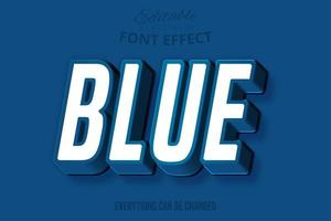 klassiek blauw cursief lettertype