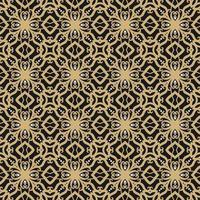 zwart, bruin en wit geometrisch patroon vector
