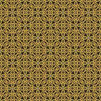 geel, zwart en wit geometrisch patroon vector