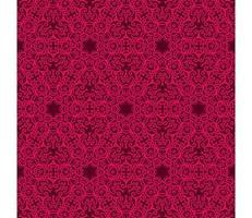 kastanjebruin en helder roze geometrisch patroon vector