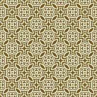 bruin en room geometrisch patroon vector