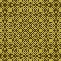 erwt groen en donkergroen geometrisch patroon vector