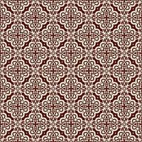 kastanjebruin en roze geometrisch patroon vector