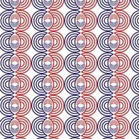 rood en blauw cirkelpatroon