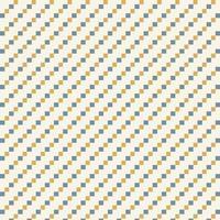 blauw en geel klein ruitvormig patroon vector