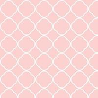 naadloos roze wit verbindend vormenpatroon