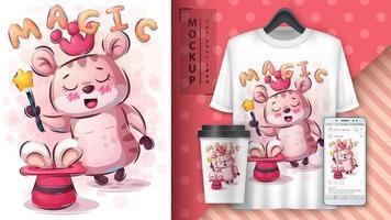 goocheltruc poster en merchandising