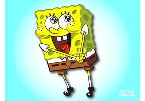 spongebob cartoon vector