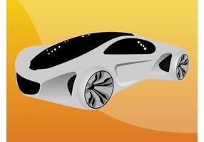 Futuristische auto vector