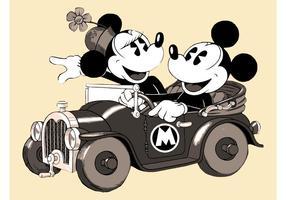 Retro cartoon vector