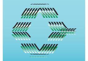 Abstract logo-ontwerp