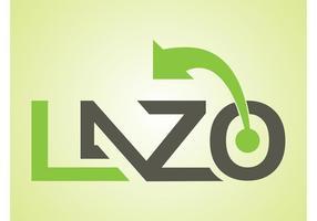 Tekst art logo vector
