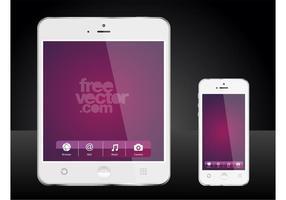 Mobiele toestellen vector