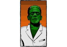 Poster Frankenstein vector