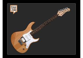 Yamaha pacifica elektrische gitaar vector