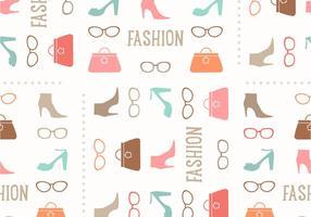 Naadloze Fashion Vector Patroon