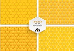 Honingraat Vector Patronen