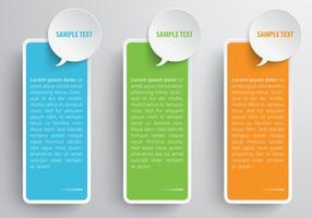 Speech bubble banner vector set