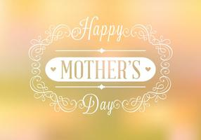 Happy Mother's Day Background Vector