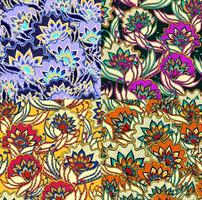 Vintage Floral Vector Patterns
