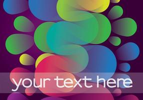 Colorful Funky Background Vector