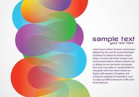 Kleurrijke Funky Achtergrond Twee Vector