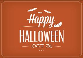Happy Halloween Vector achtergrond