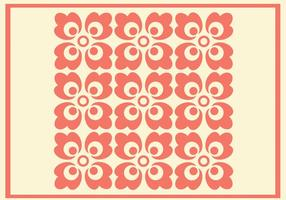 Koraal Ornament Vector Patroon