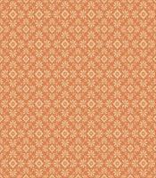 Tangerine bloemen vector patroon