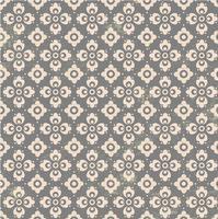 Grijs Bloemen Ornament Vector Patroon