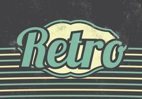 Retro Vector Achtergrond