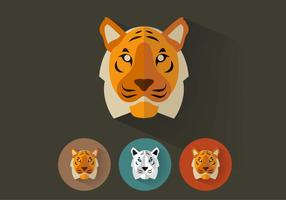 Tiger Vector Portraits
