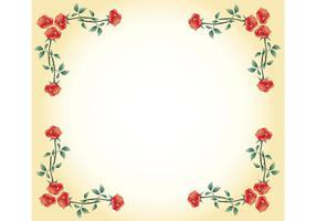 Gratis Vector Rose Frame
