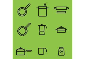 Keuken Vector Items
