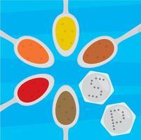 Spice Vectors in Spoon Vectors