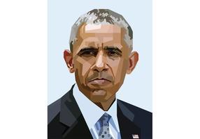 Gratis Obama Vector Portret Skintone