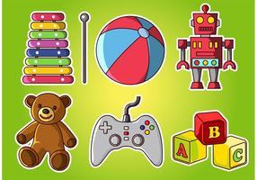 Speelgoedvectoren voor Ninos