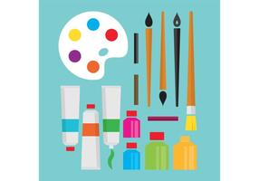 Art Supplies Vectors