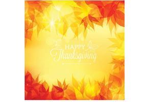 Gratis Vector Thanksgiving Bokeh Achtergrond