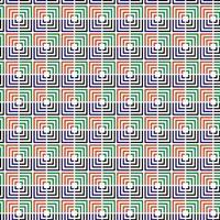 kleurrijk losgekoppeld vierkant naadloos patroon