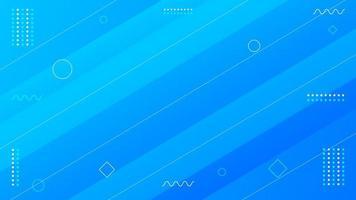 blauw geometrisch modern ontwerp als achtergrond vector